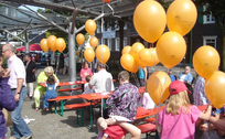 Luftballonfest in Burscheid